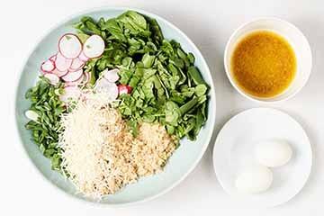 pomiješaj kvinoju dresing